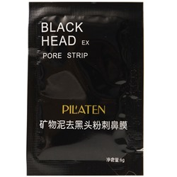 Маска для лица от черных точек Black head pore strip 6g